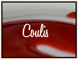 coulis